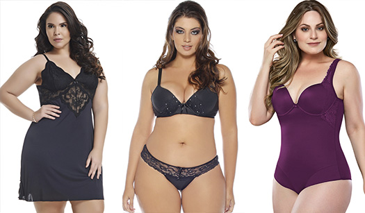 705702b57a ... Lingerie Plus Size Ideal  Legenda  Intima Store