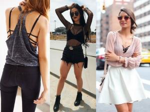 strappy bra: como usar